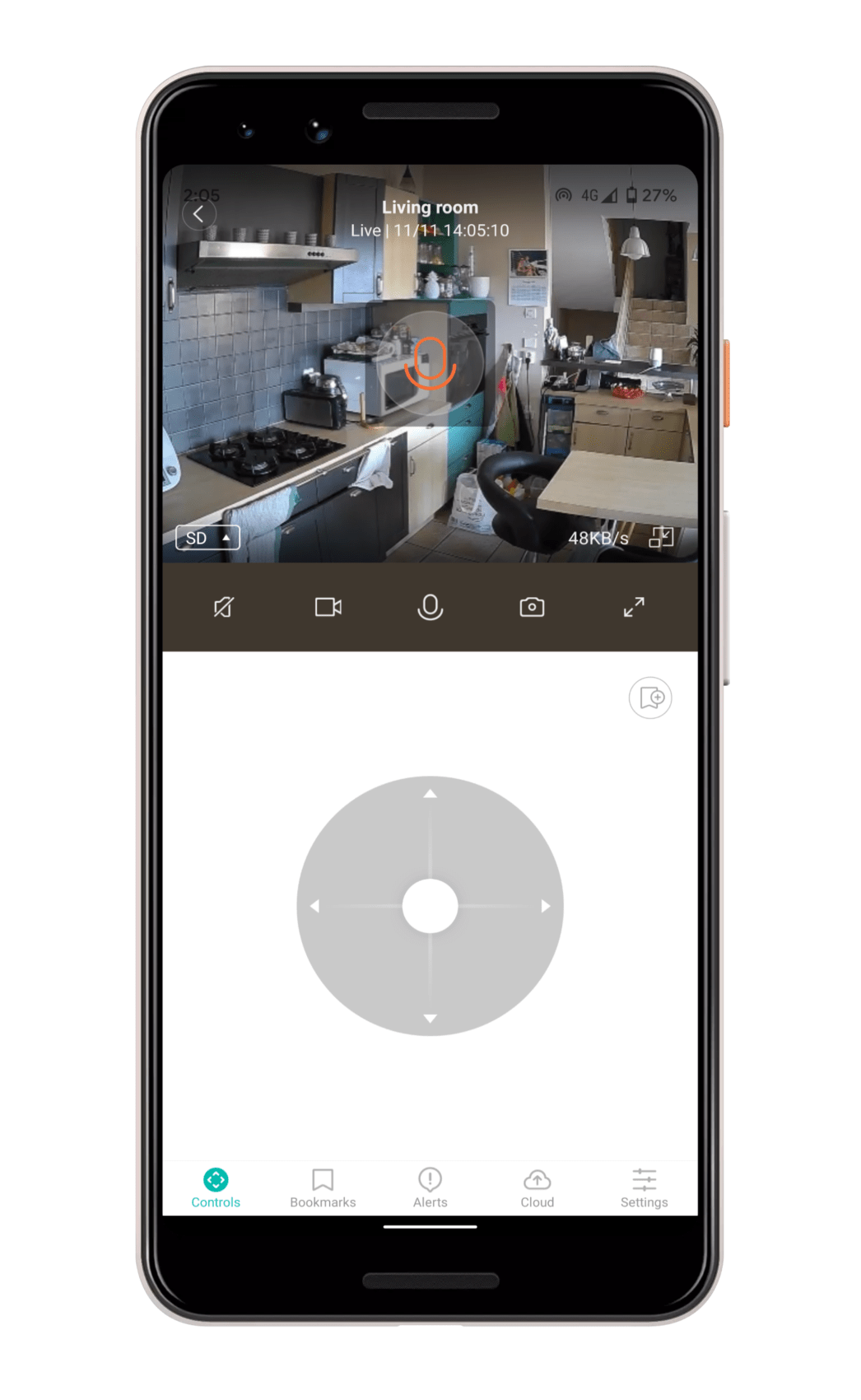 Test de la Kami Indoor : une sympathique caméra de surveillance motorisée à moins de 100 euros