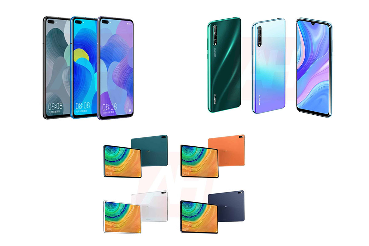 leak huawei 1200x800 - Huawei P smart 2020, Nova 6 and MatePad Pro unveiled in pictures before the time - FrAndroid