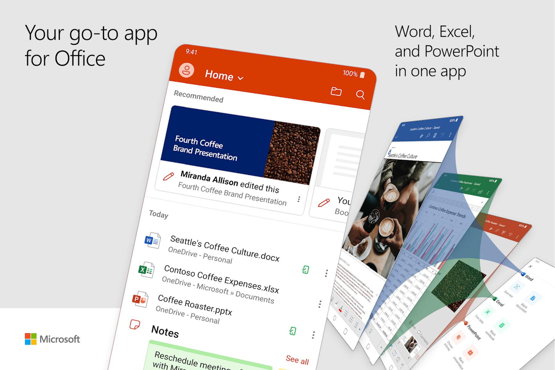 Microsoft lance une nouvelle application sur Android : Word, Excel et PowerPoint en une seule app
