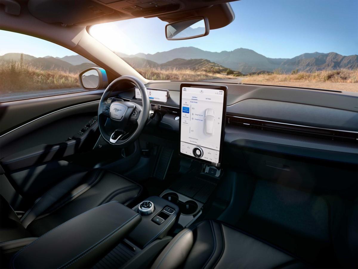 L'intérieur de la Mustang Mach-E