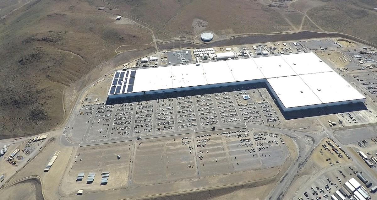 Gigafactory au Nevada (US)