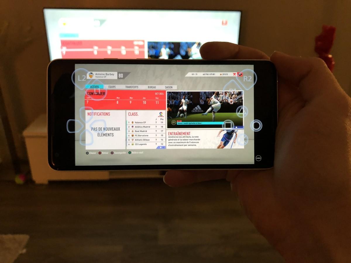 Les boutons virtuels s'affichent sur l'écran / L'application bloque les captures d'écran