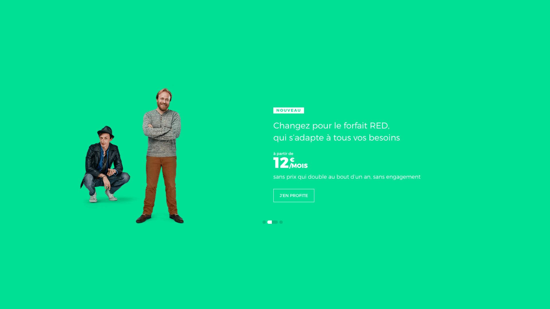 RED by SFR : le retour du forfait mobile avec 60 Go de 4G pour 12 euros par mois