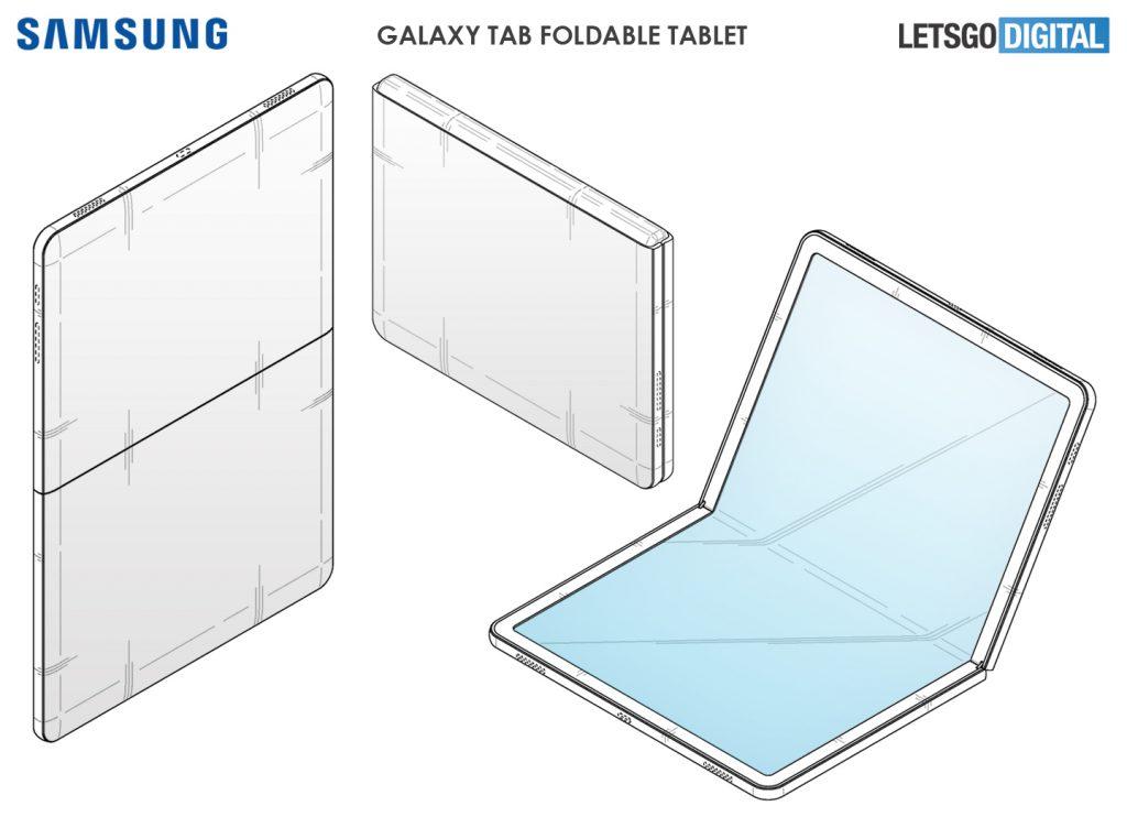 Galaxy Tab Fold : Samsung travaillerait sur une tablette à écran pliable