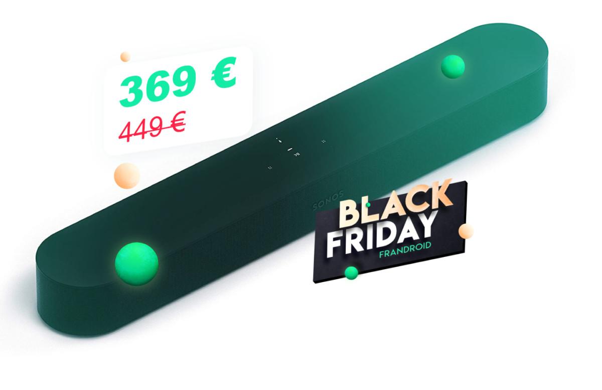 Compacte et puissante, la barre de son Sonos Beam tombe à 369 € pour le Black Friday