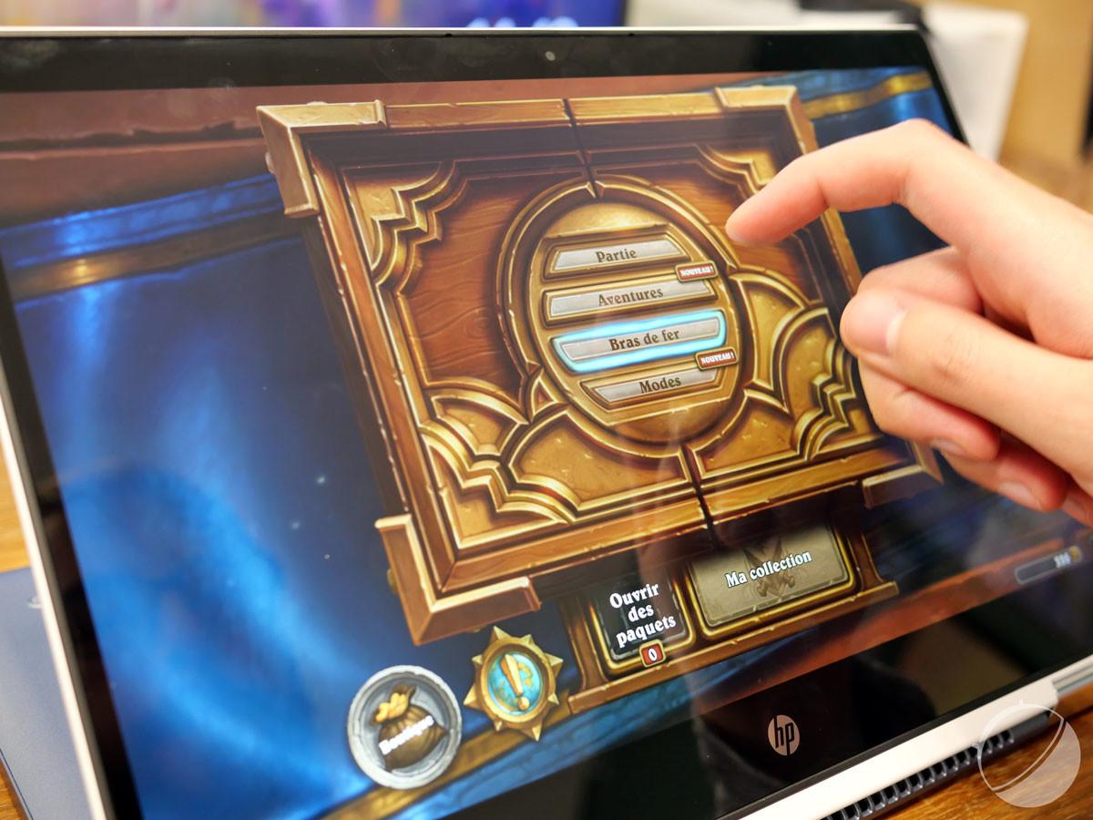 Utilité première d'un écran tactile