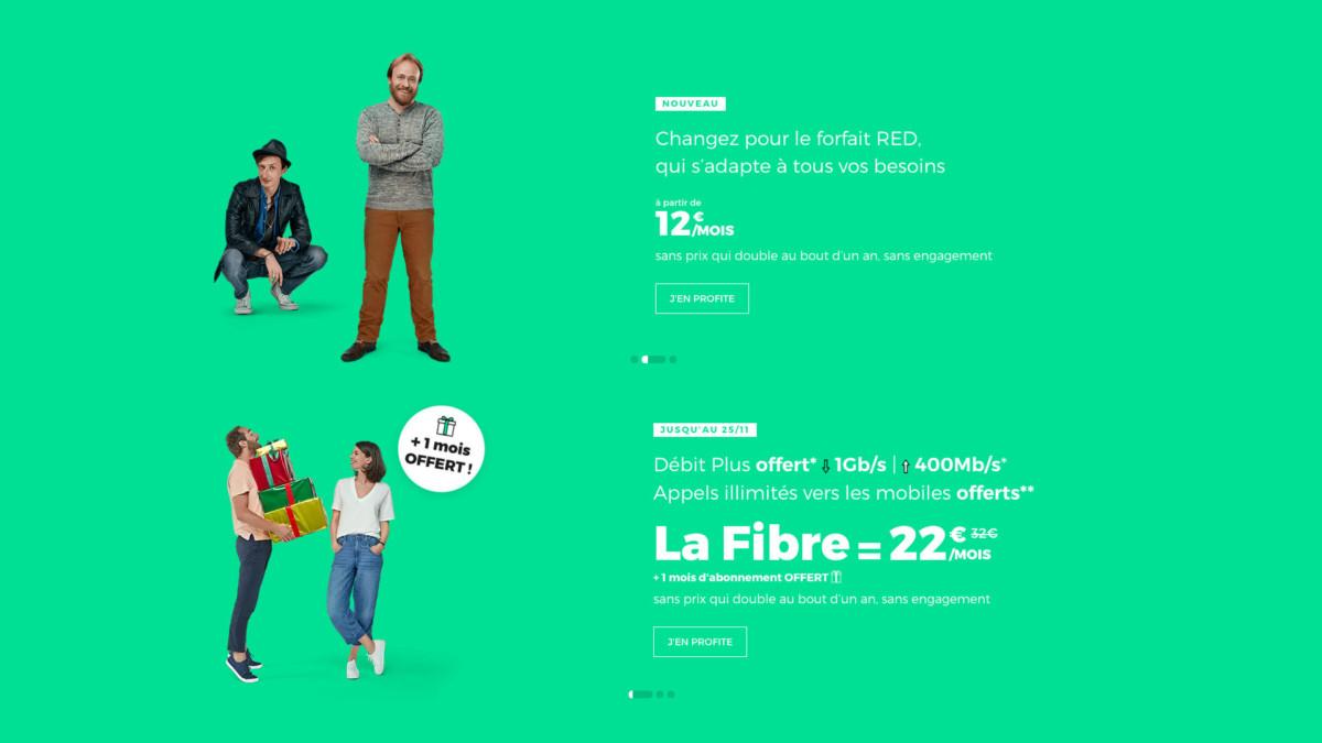Avant le Black Friday, la fibre 1 Gb/s et le forfait mobile 60 Go sont à 34 euros