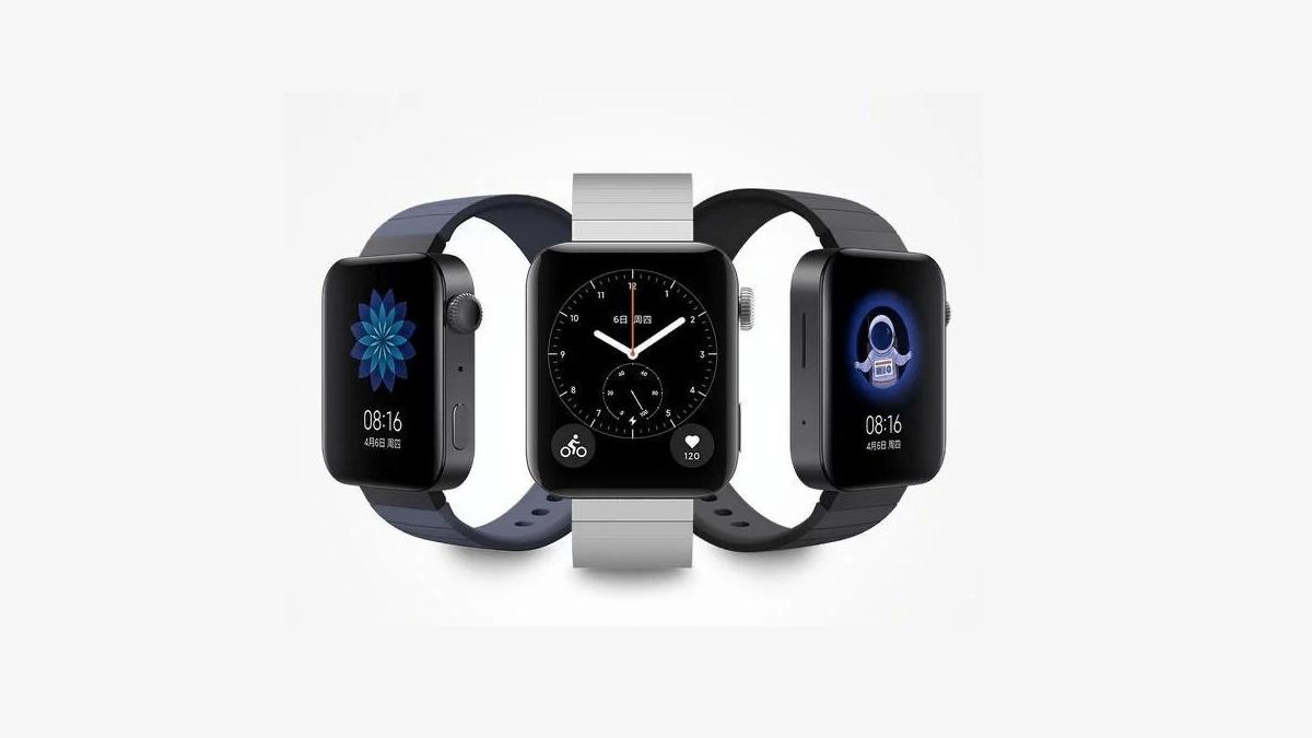 La première montre connectée de la marque se dévoile — Xiaomi Mi Watch