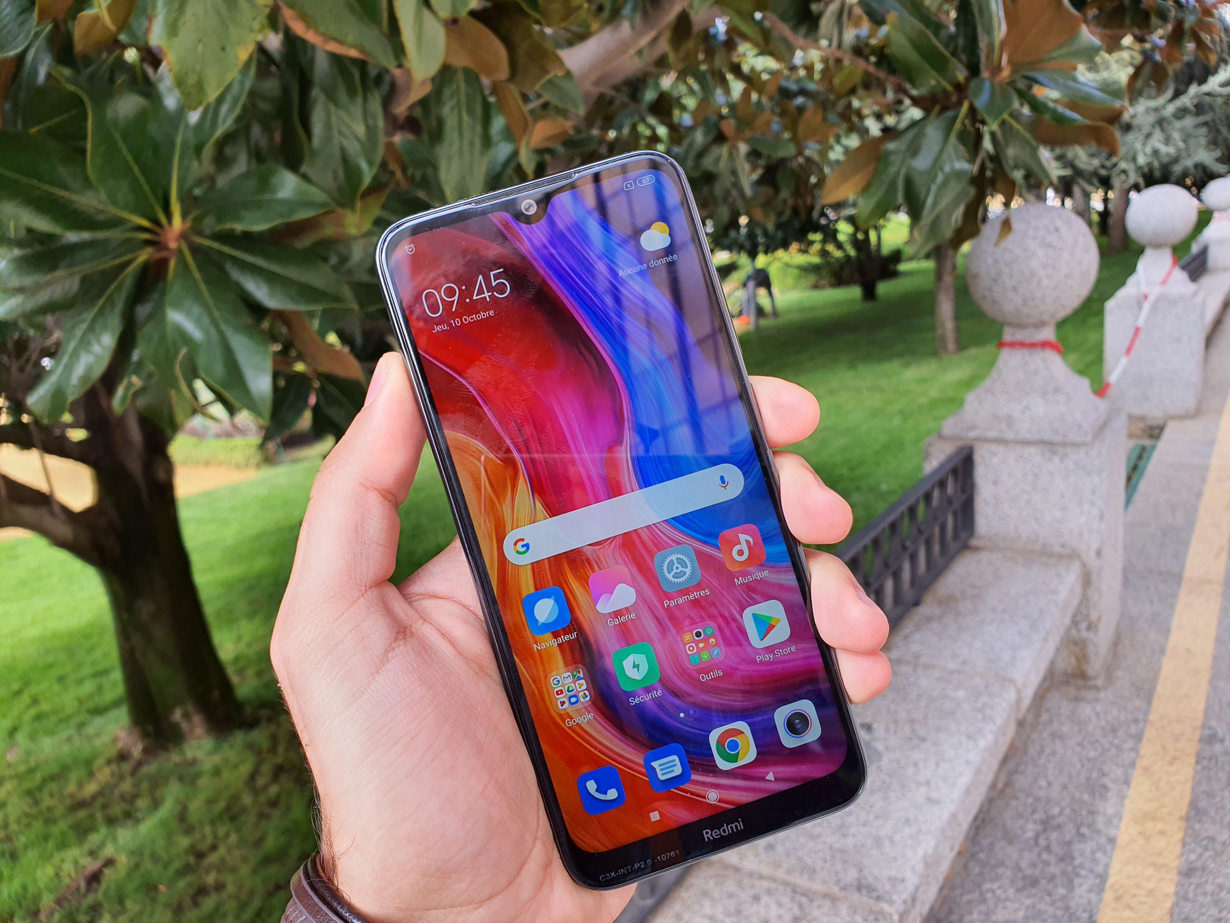foto de Prise en main du Xiaomi Redmi Note 8T : à la fois logique et redondant