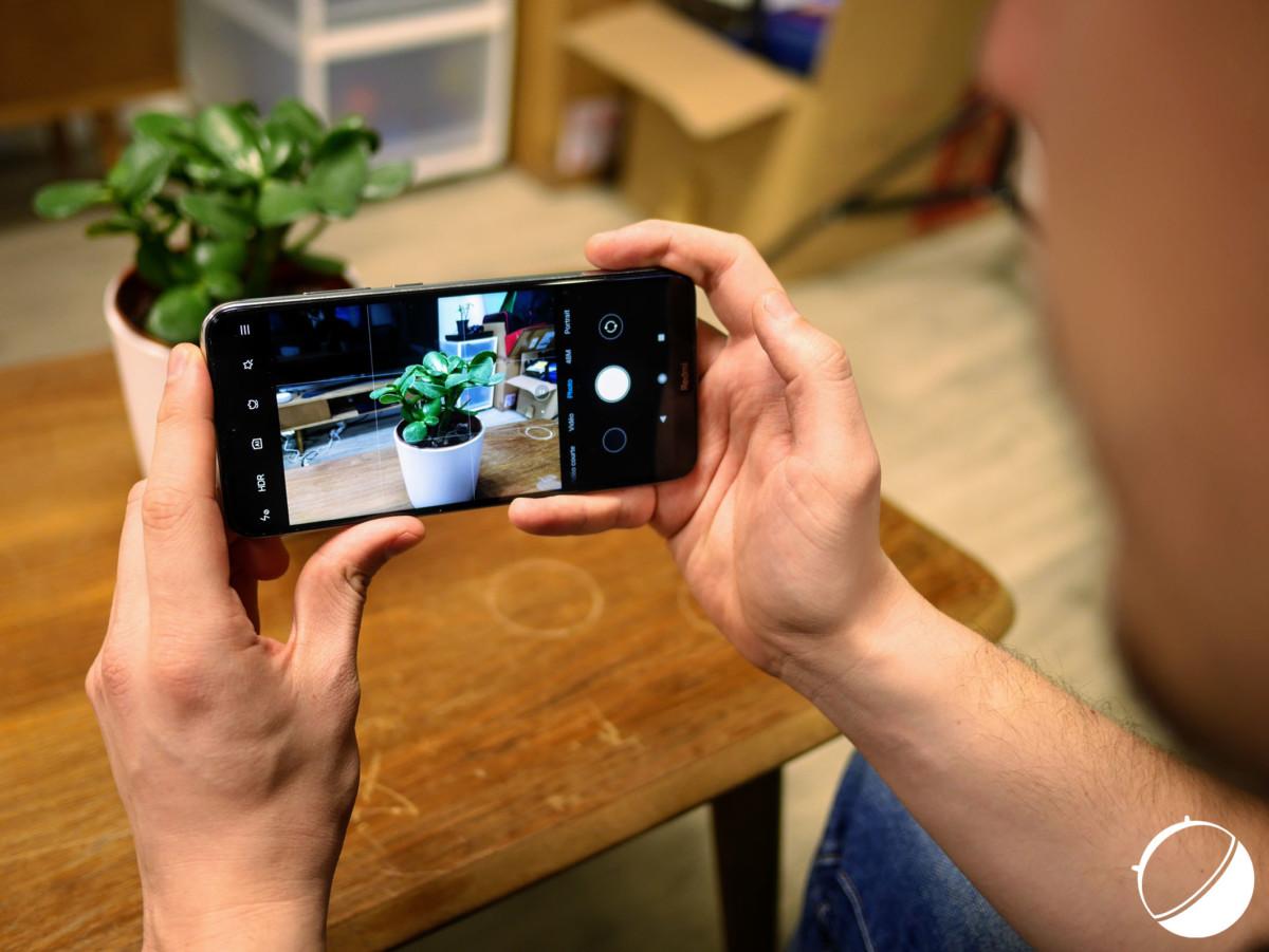 L'application photo du Xiaomi Redmi Note 8T
