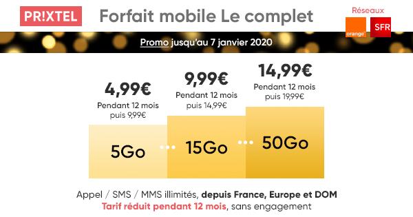 Le complet de Prixtel : 3 bonnes raisons de choisir ce forfait mobile à 4,99 euros