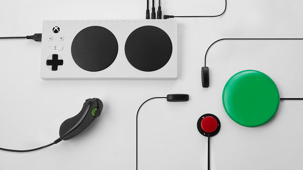 La manette Xbox Adaptive Controller représente l'accent mis sur l'inclusivité dans l'industrie