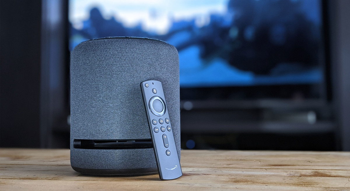 L'enceinte peut aussi se connecter au Fire TV Stick 4K