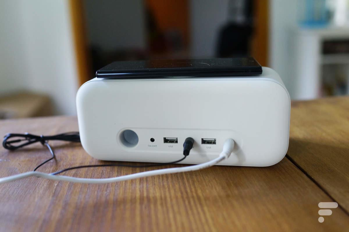 Deux USB à l'arrière