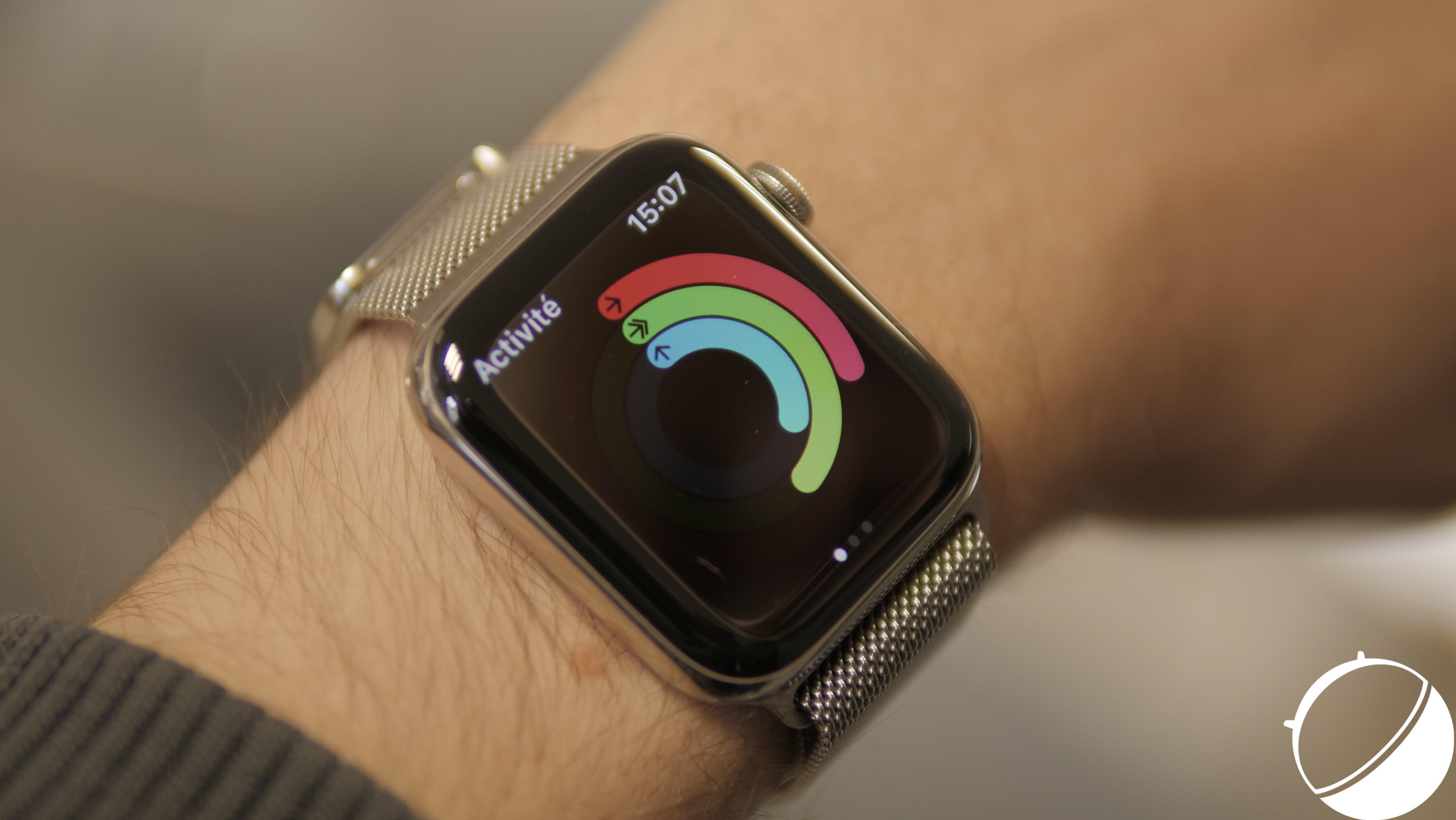 L'Apple Watch est à la fois une montre et un appareil de santé connecté