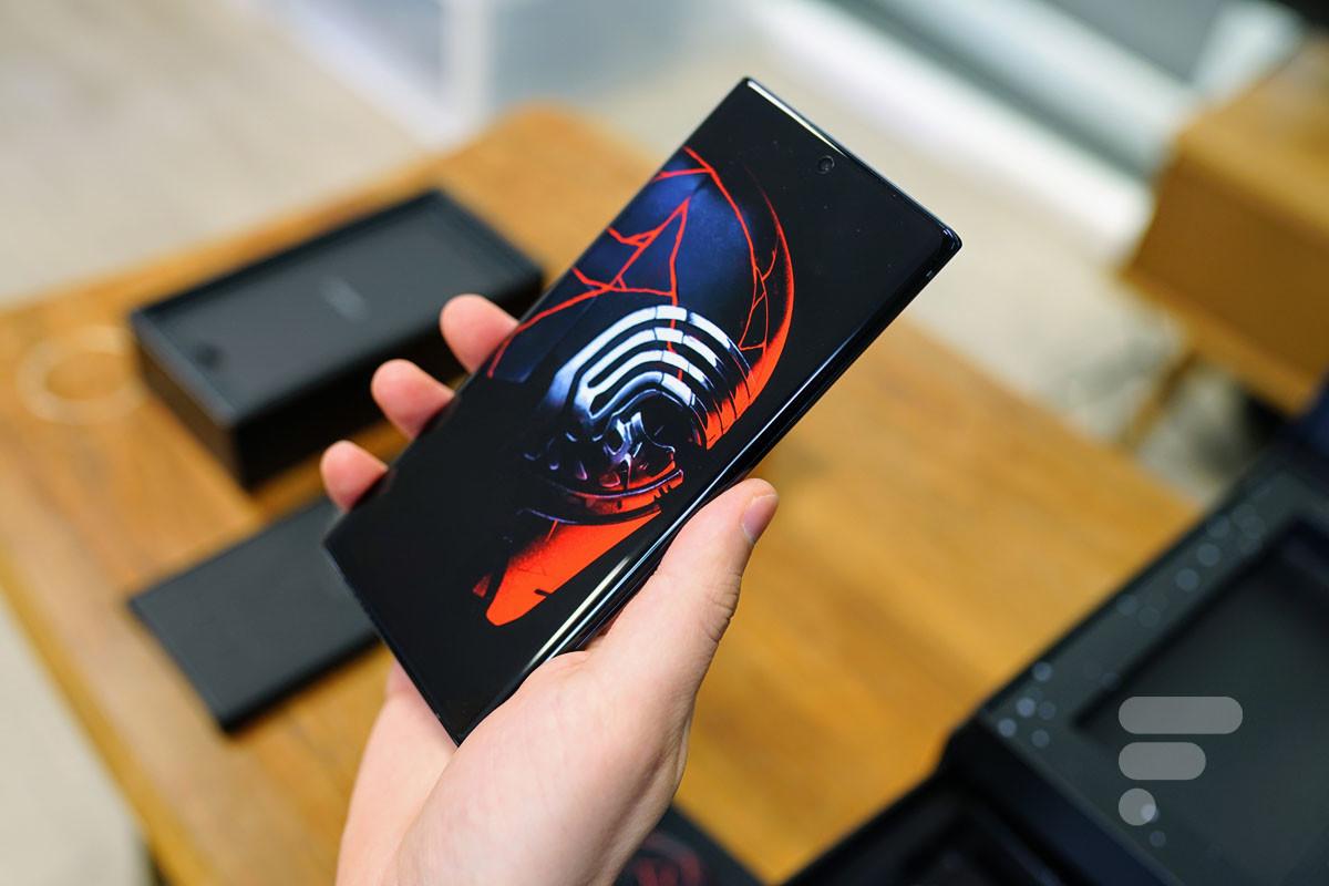 Samsung Galaxy Note 10+ Edition Star Wars : notre déballage de Premier Ordre