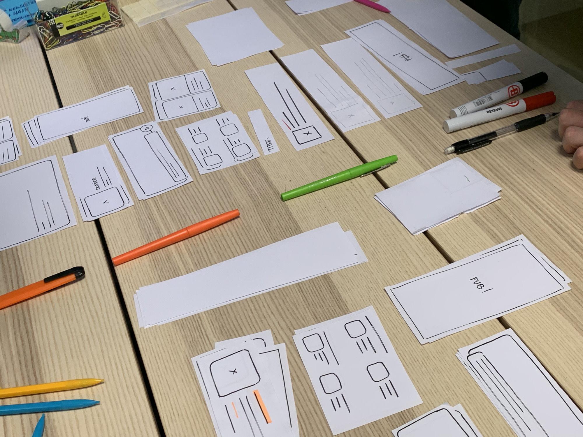 Le prototypage papier, une phase d'élaboration expliquée dans l'épisode