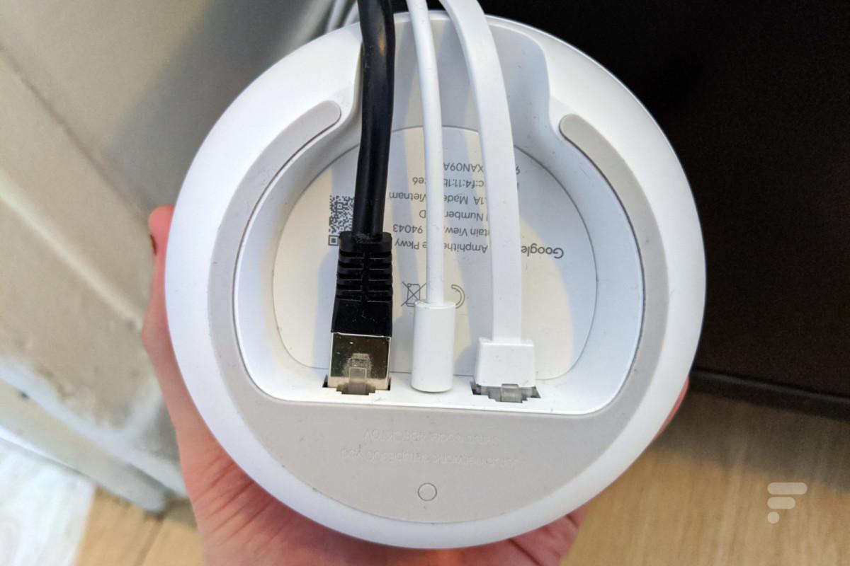 Connectique Google Nest Wifi
