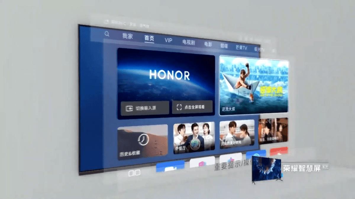 Honor Vision, la première TV avec HarmonyOS embarqué