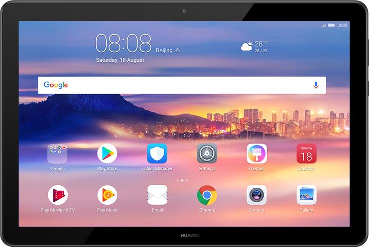 La tablette de 10 pouces Huawei Mediapad T5.