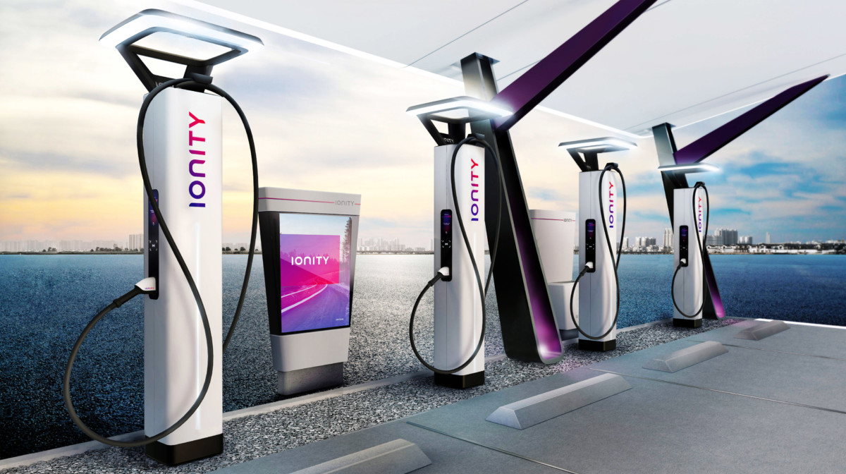 Chargeurs Ionity // Crédits : Ionity