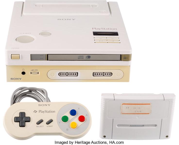 Voilà en images un incroyable prototype de Nintendo Playstation, si si