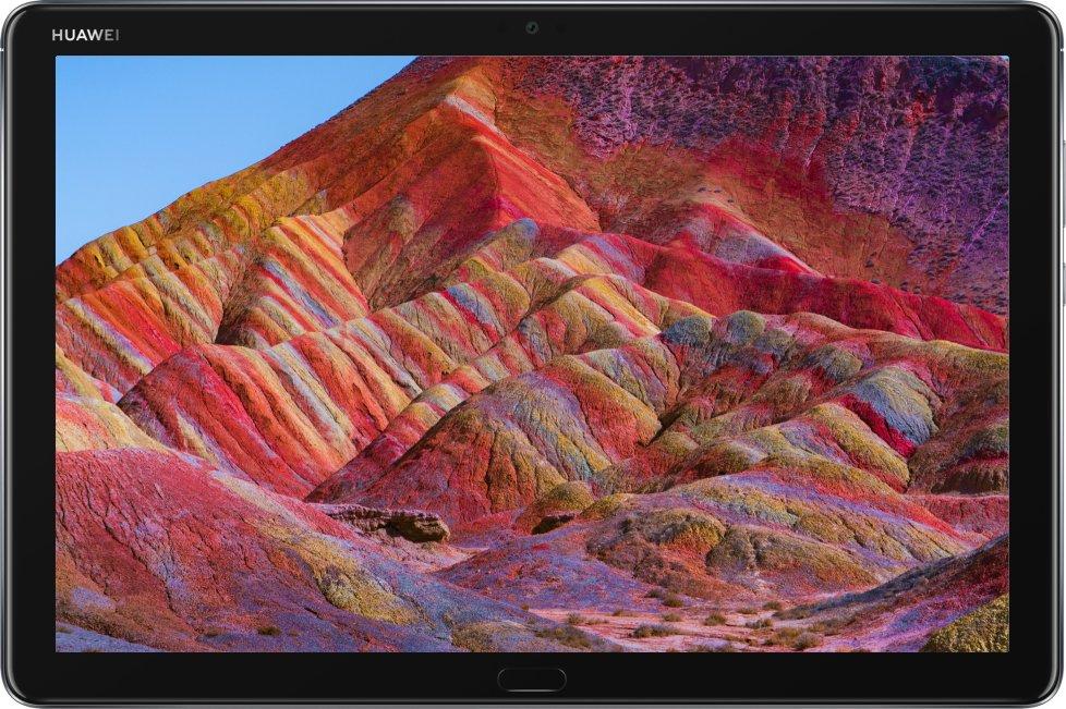 La tablette Mediapad M5 Lite bénéficie d'un bel écran de 10 pouces de définition Full HD, avec de belles couleurs et une bonne luminosité. Parfaite pour consommer du contenu, donc.