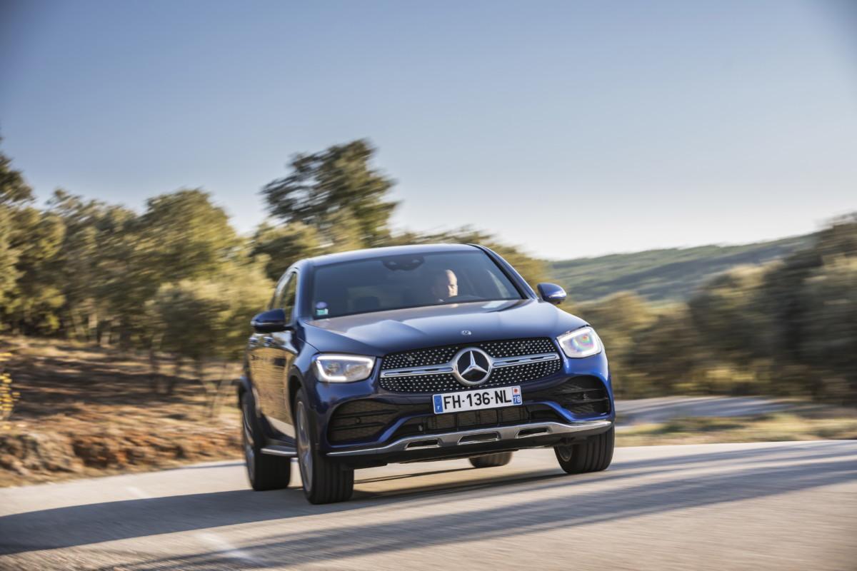 Mercedes GLC Coupé restylé