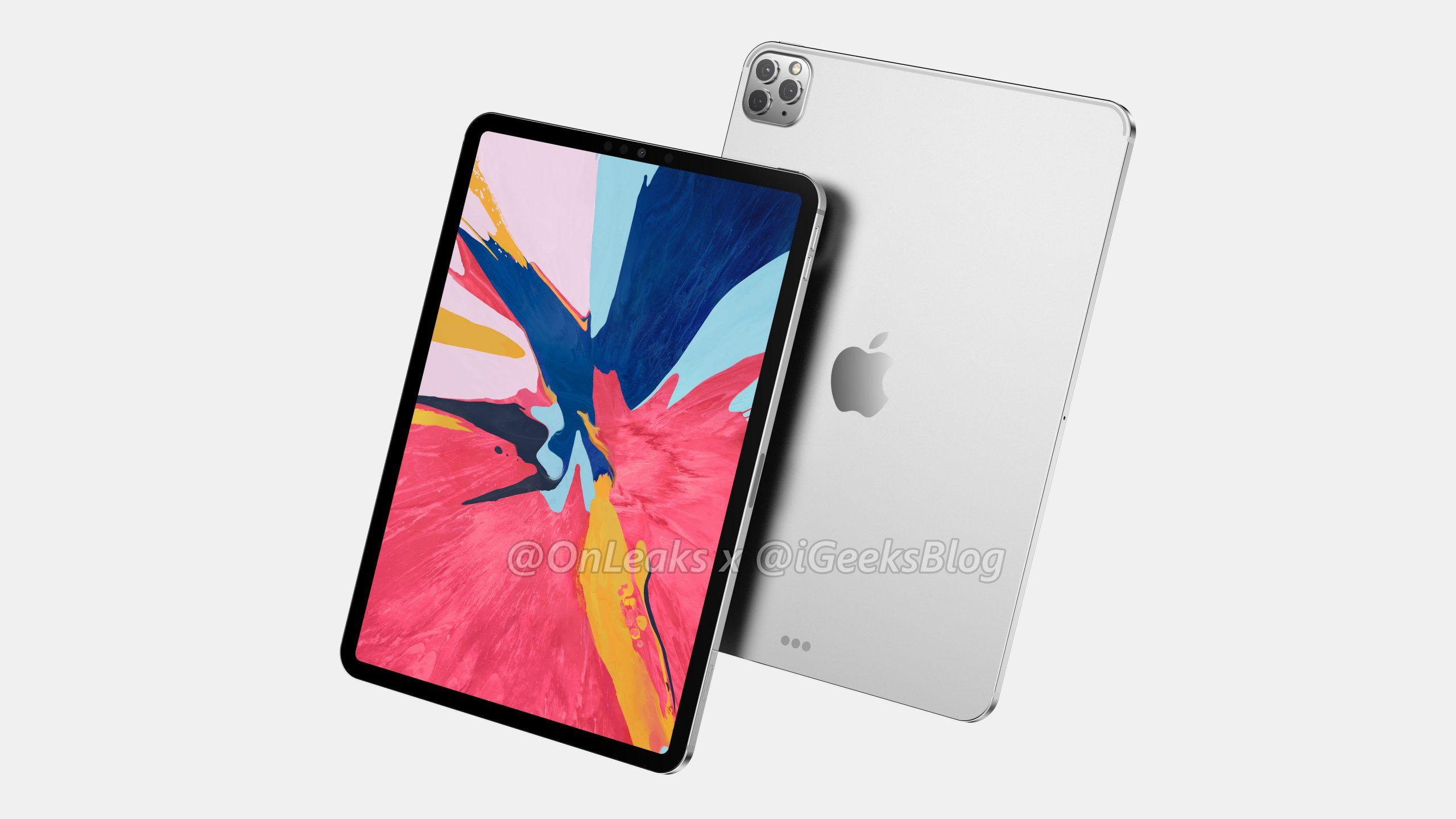 Apple : le design de l'iPad Pro 2020 a fuité