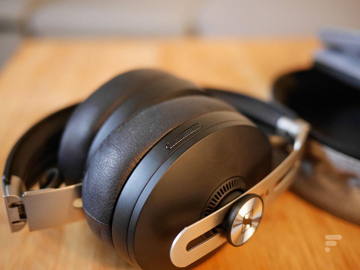 Les micros utilisés par le Momentum 3 Wireless pour la réduction de bruit