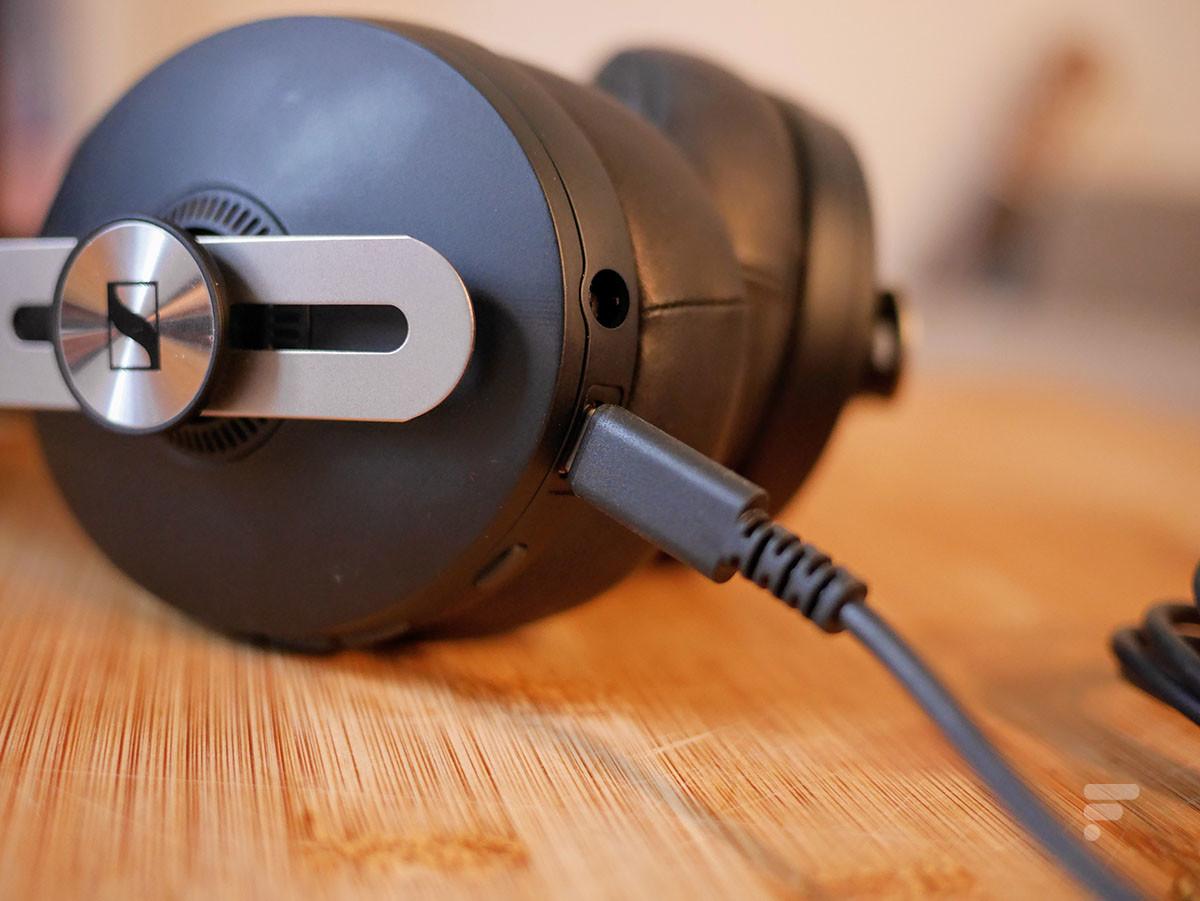 Le Sennheiser Momentum 3 Wireless se recharge en USB-C