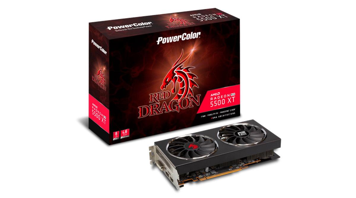 AMD Radeon RX 5500 XT : une carte graphique next gen pour le Full HD
