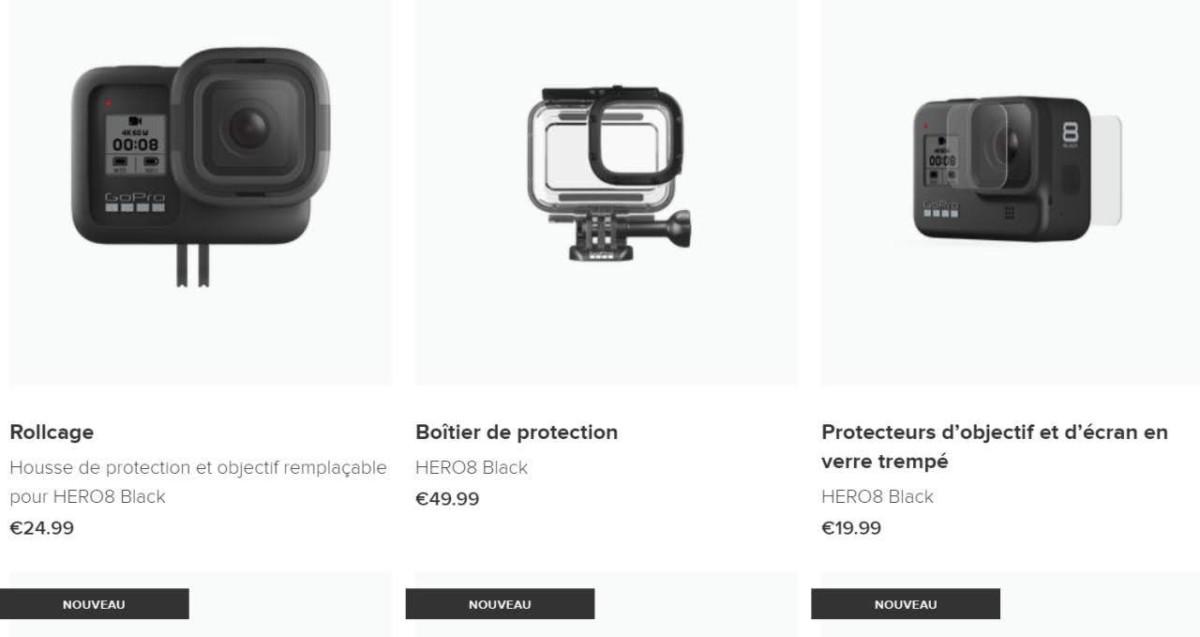 Les accessoires de protection // Site GoPro