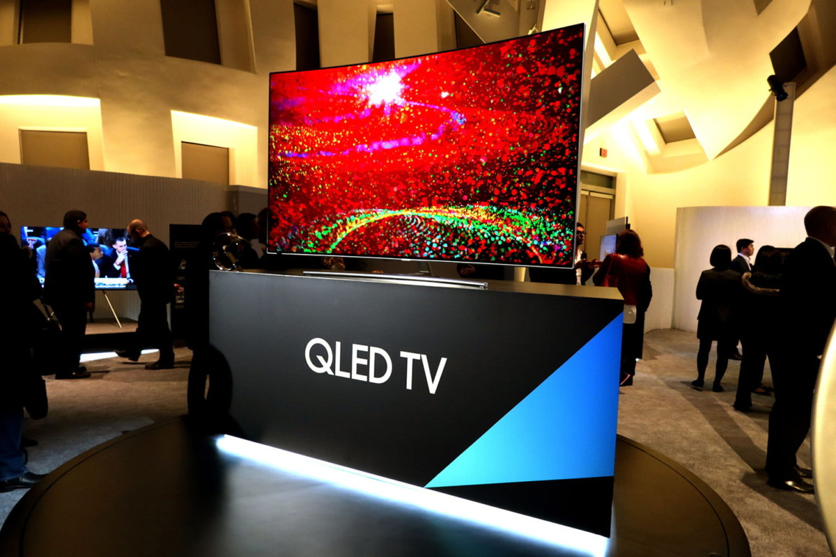 Stand QLED TV