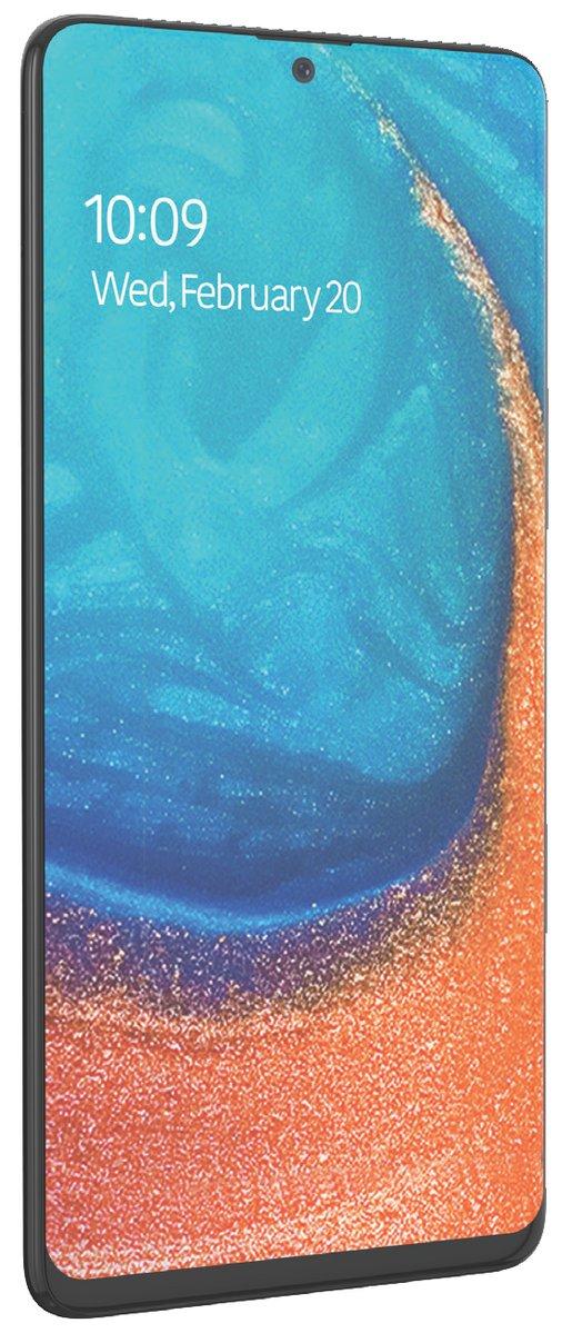 Samsung Galaxy A71 : admirez sa face avant dans ce rendu presse