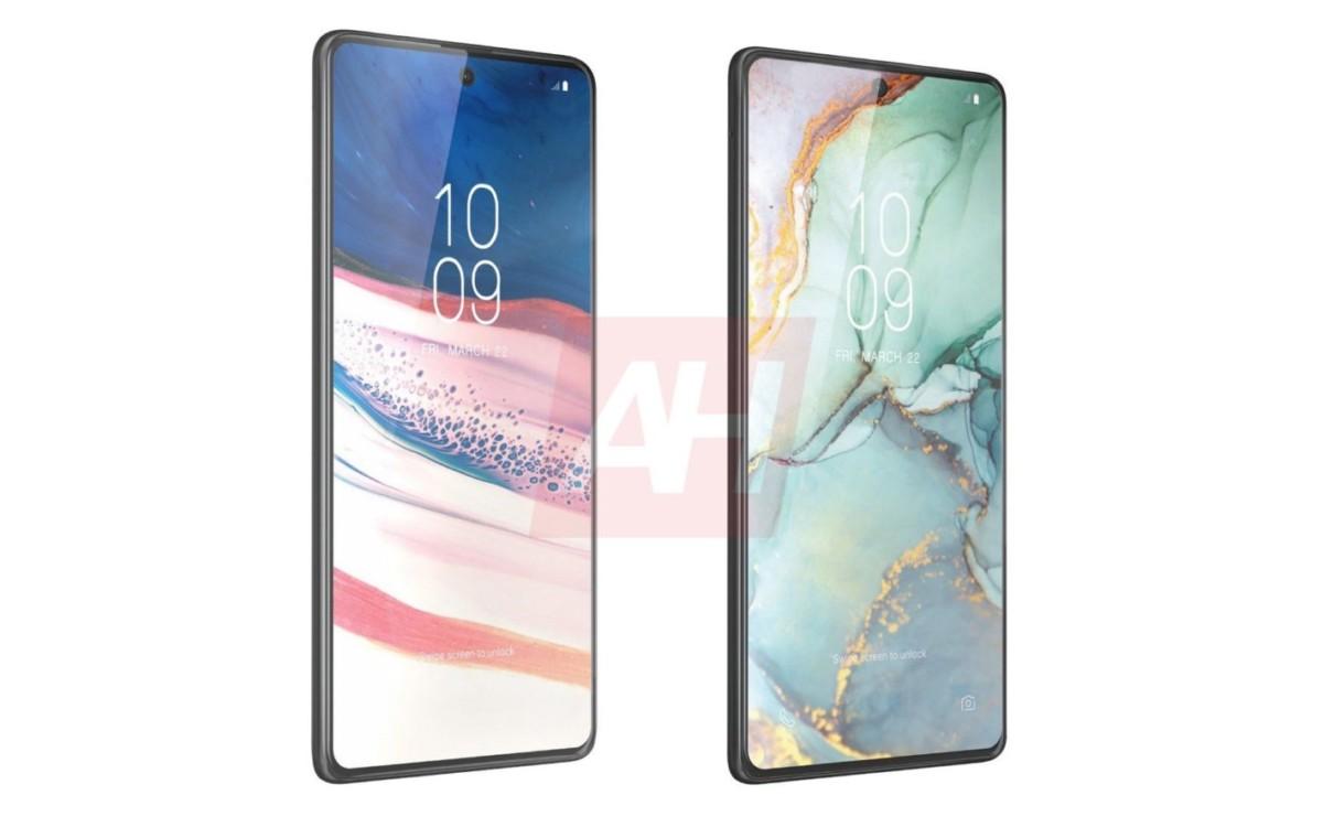 Le Galaxy Note 10 Lite, à gauche, et le S10 Lite, à droite