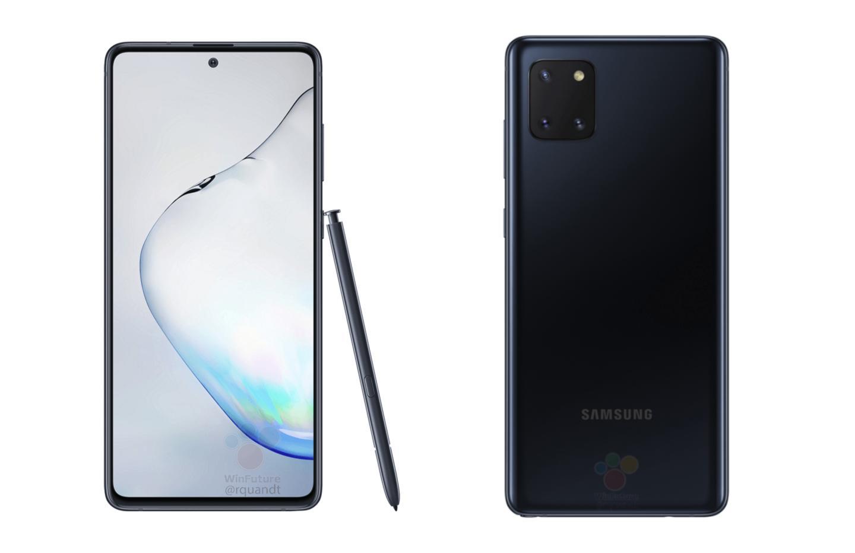 Voici le Samsung Galaxy Note 10 Lite, son prix et ses caractéristiques
