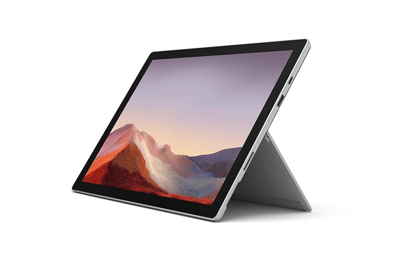 Ici la Surface Pro 7 actuelle, dont le nouveau modèle reprendra les lignes pratiquement à l'identique