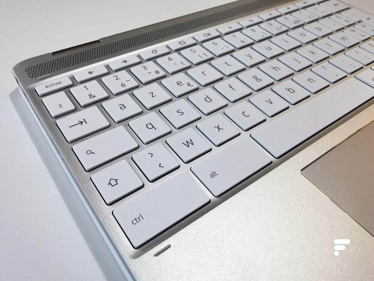 Et oui: pas de Verr. Maj sur les Chromebook!