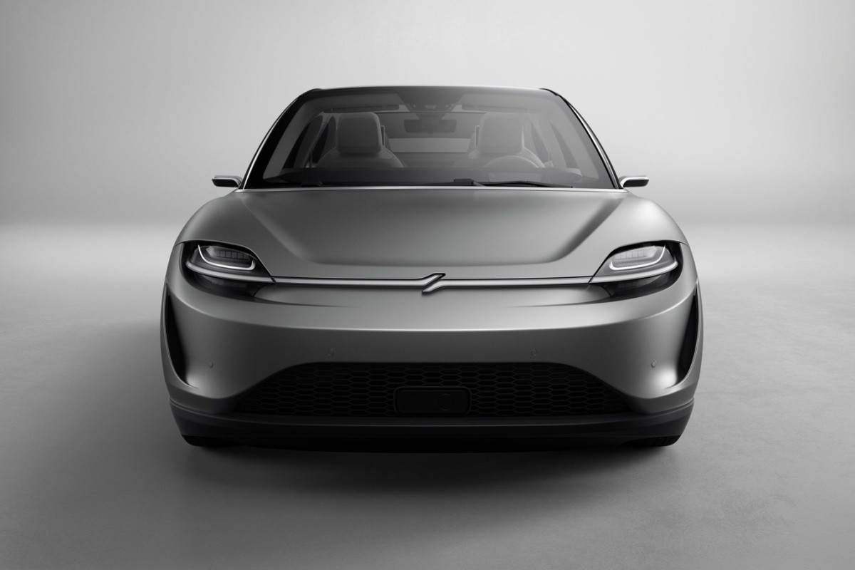 La S-Vision est une berline 100 % électrique