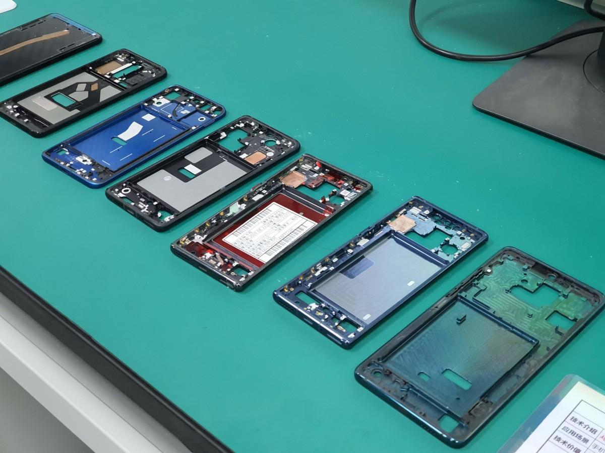 Y a-t-il un prototype du HuaweiP40?
