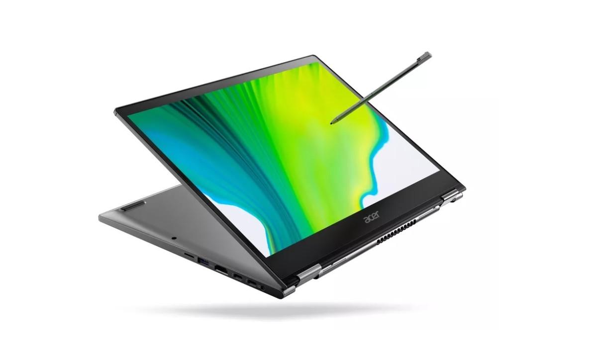 Ici le Spin 3, avec écran au format 16:9 / Crédit : Acer