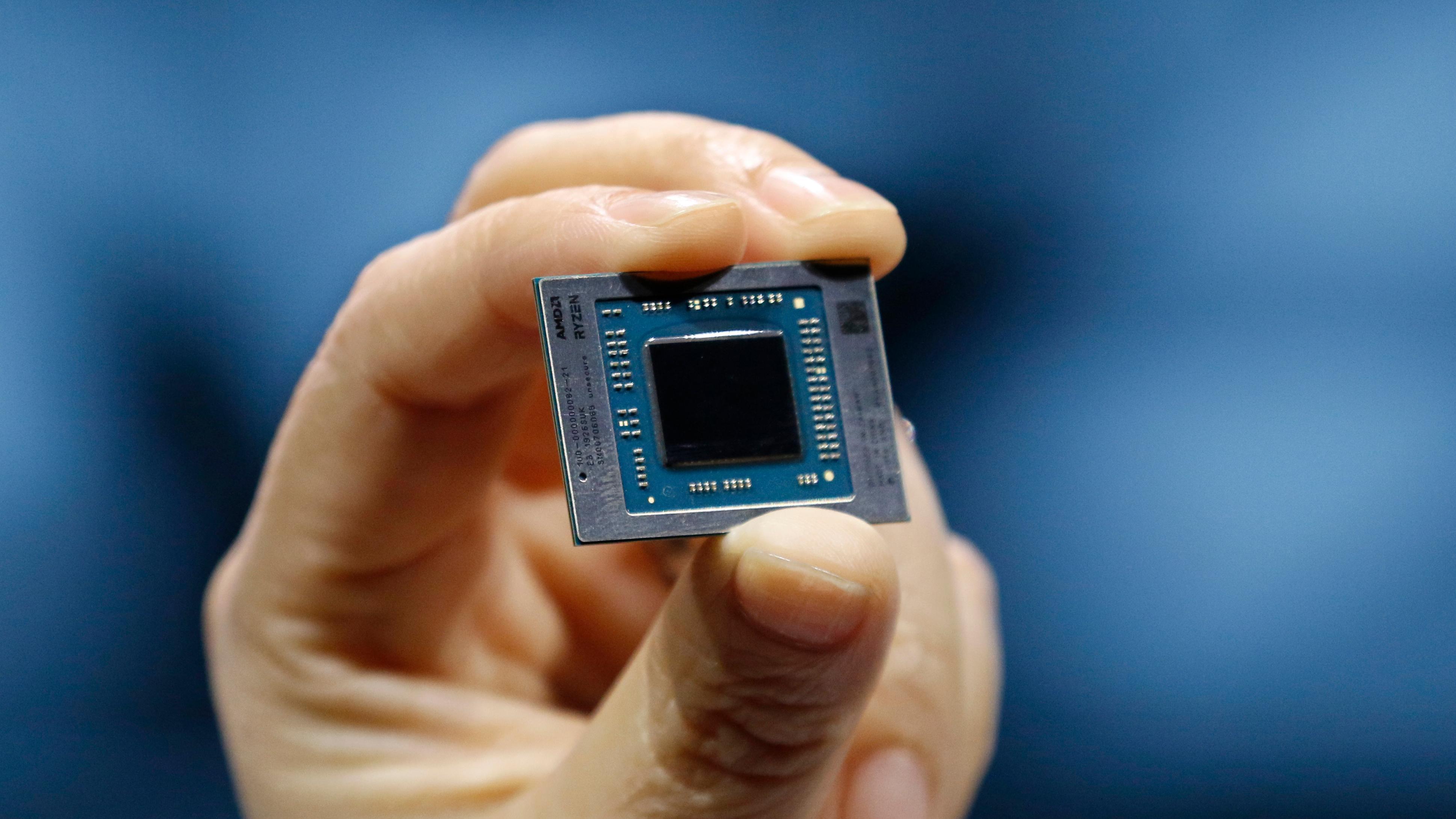 Une puce AMD Ryzen