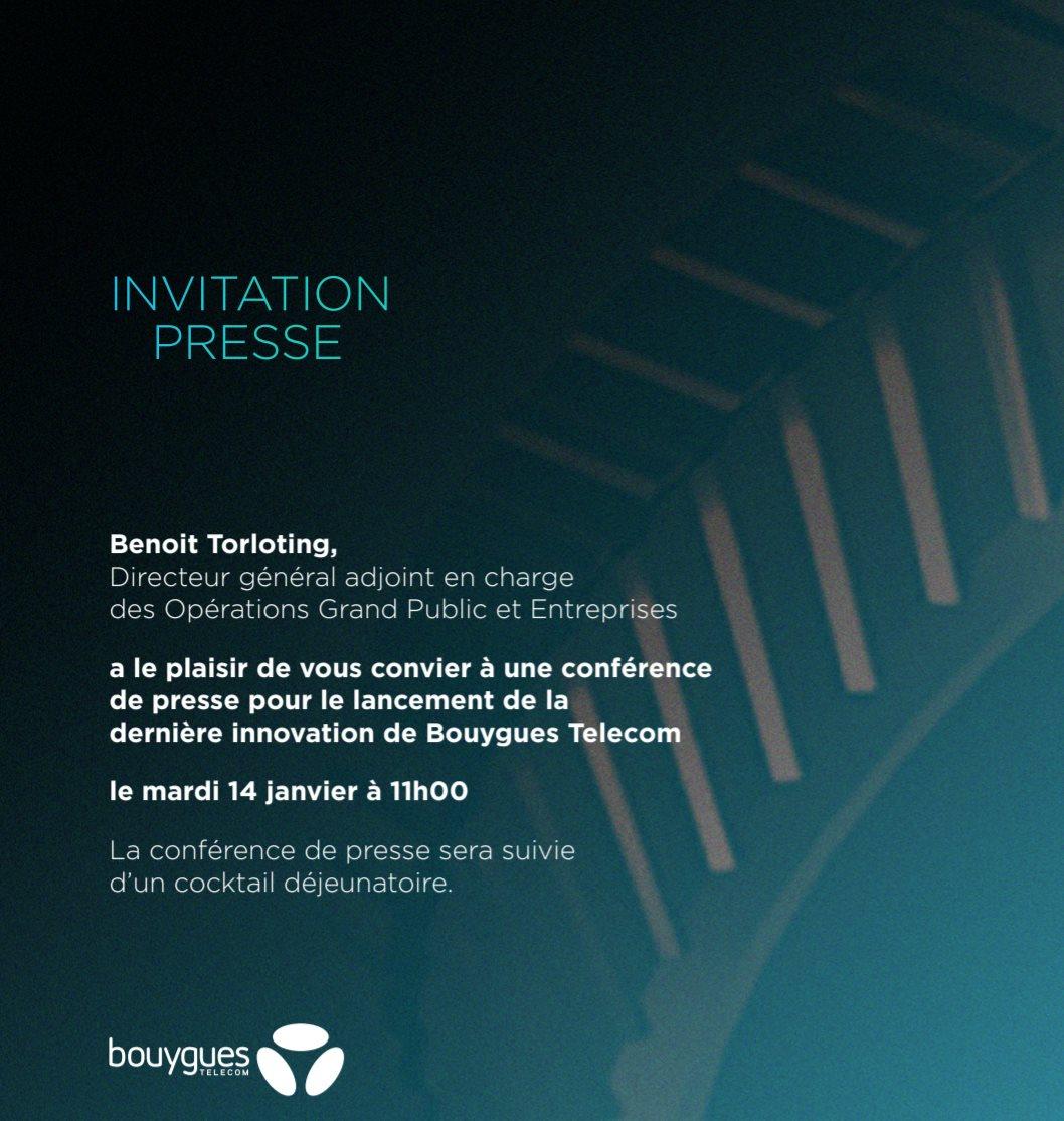 Bouygues Telecom va présenter sa « dernière innovation » : une Bbox ?