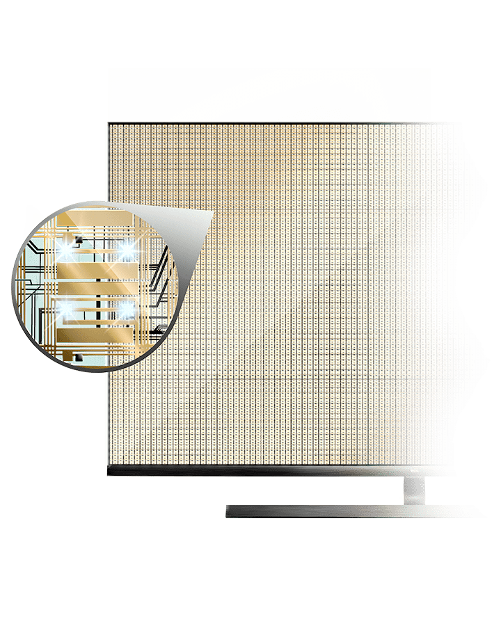 La dernière technologie de Mini LED de TCL se nomme Vidrian