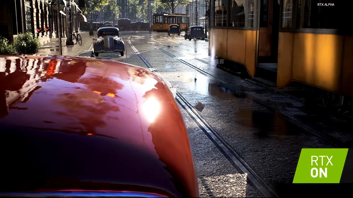 Démonstration du ray tracing sur Battlefield V // Crédit image : Nvidia