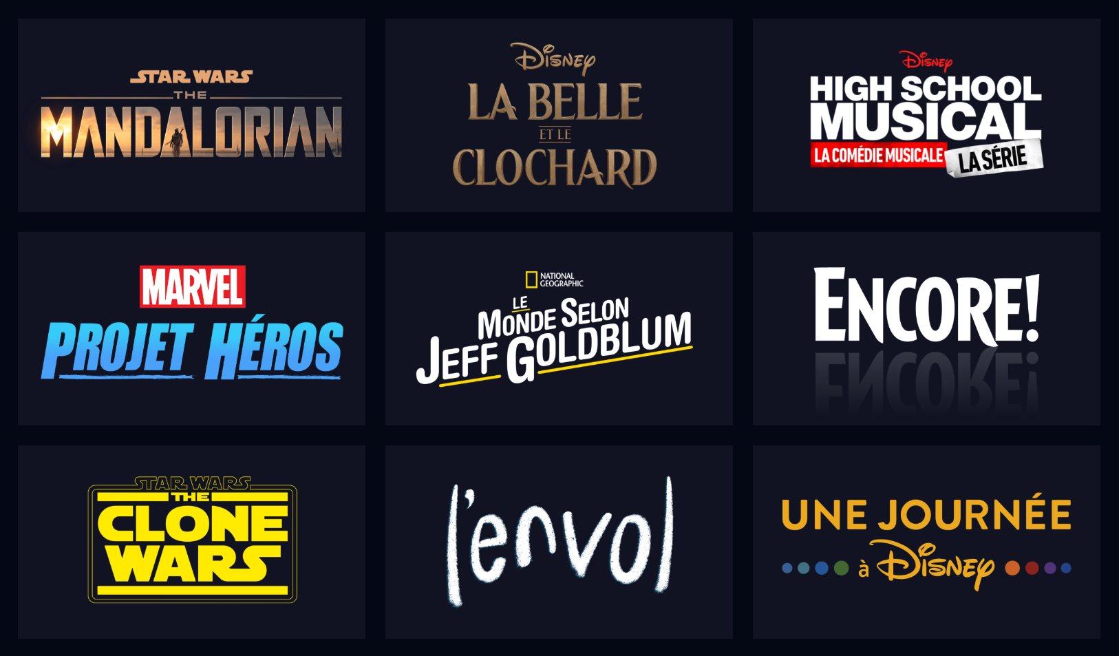 Disney+ sortira plus tôt que prévu en France