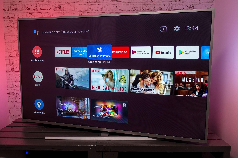tv connectee pourquoi ca traine
