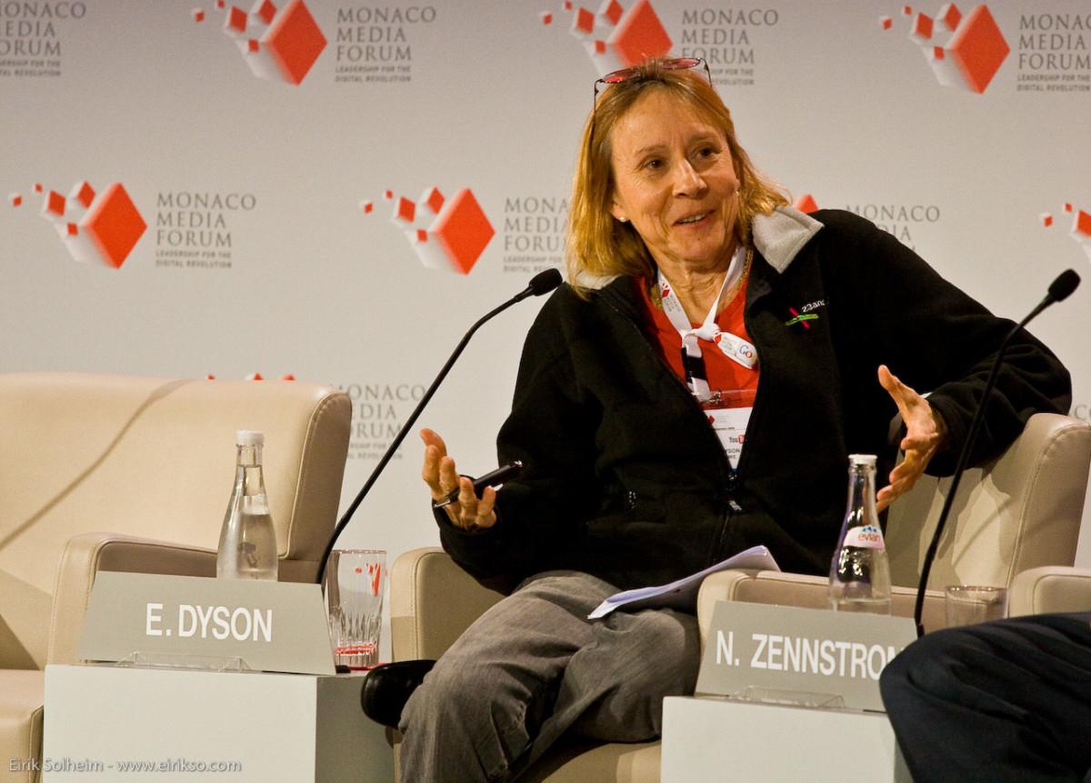 Esther Dyson. (Photo d'Eirik Solheim, via Wikimedia Commons)