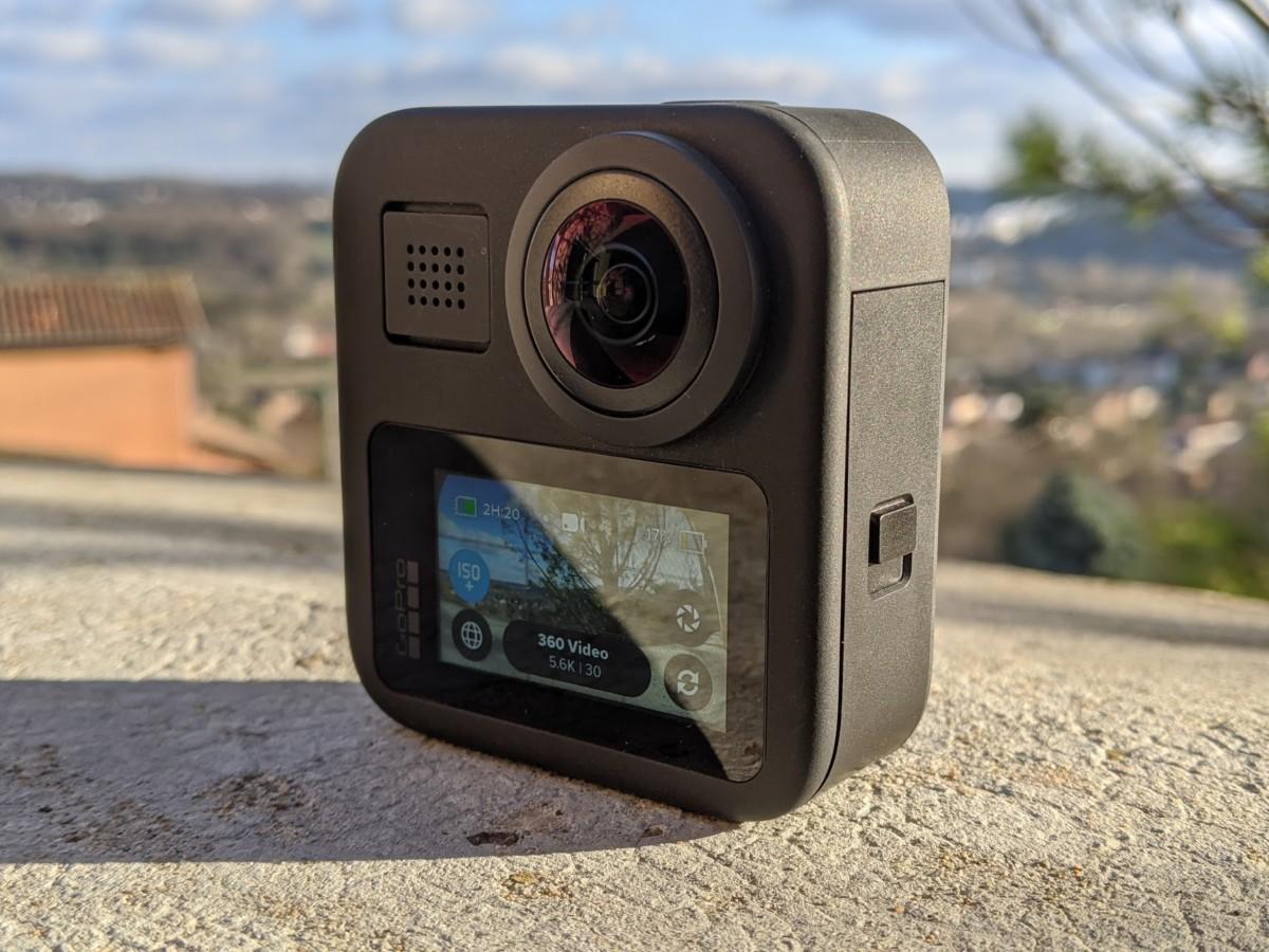 L'écran de la GoPro Max